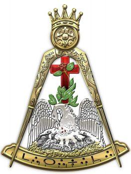 18th degree mason knight rose croix masonic jewel serge averbukh transparent
