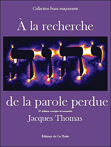 Jacques Thomas A la recherche de la parole perdue