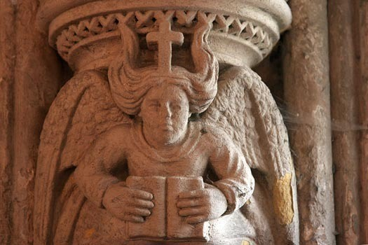 rosslyn chapel angel con libro