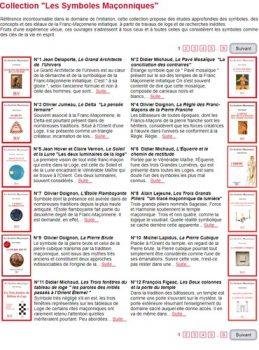 collection les symboles maconnique
