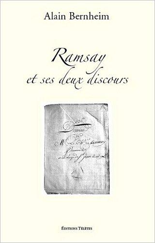 Alain Bernheim Ramsay et ses deux discours