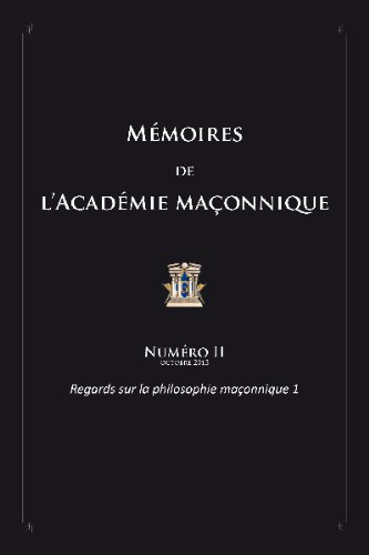 Jean Bernard Levy Memoirs of the Masonic Academy No 2