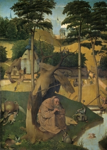 The Temptation of St Anthony Bosch