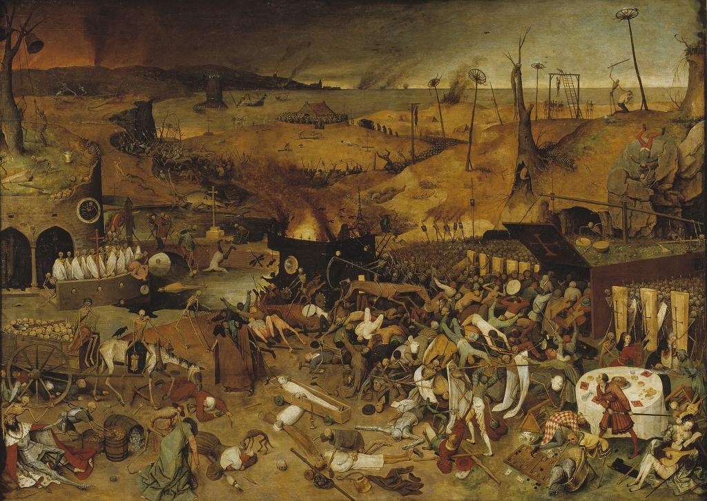 Pieter Bruegel cel Bătrân, Trimful morții (c. 1562)