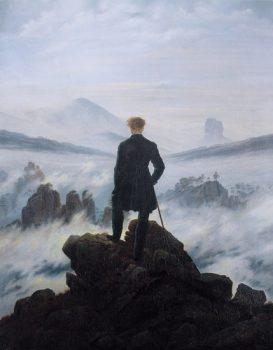caspar-david-friedrich-călător-pe-marea-norilor