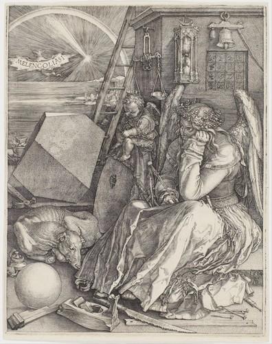 Albrecht-Dürer-Melencolia-1514