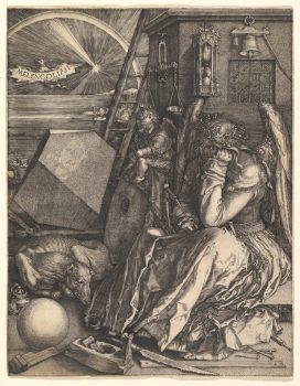 Albrecht-Dürer-Melencolia-1514-mare