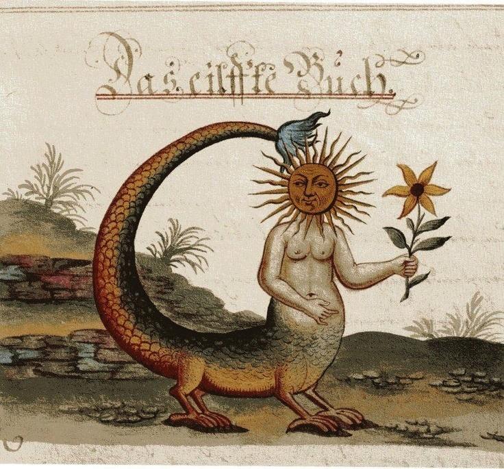 Clavis Artis, manuscris alchimic german, secolul al XVII-lea.