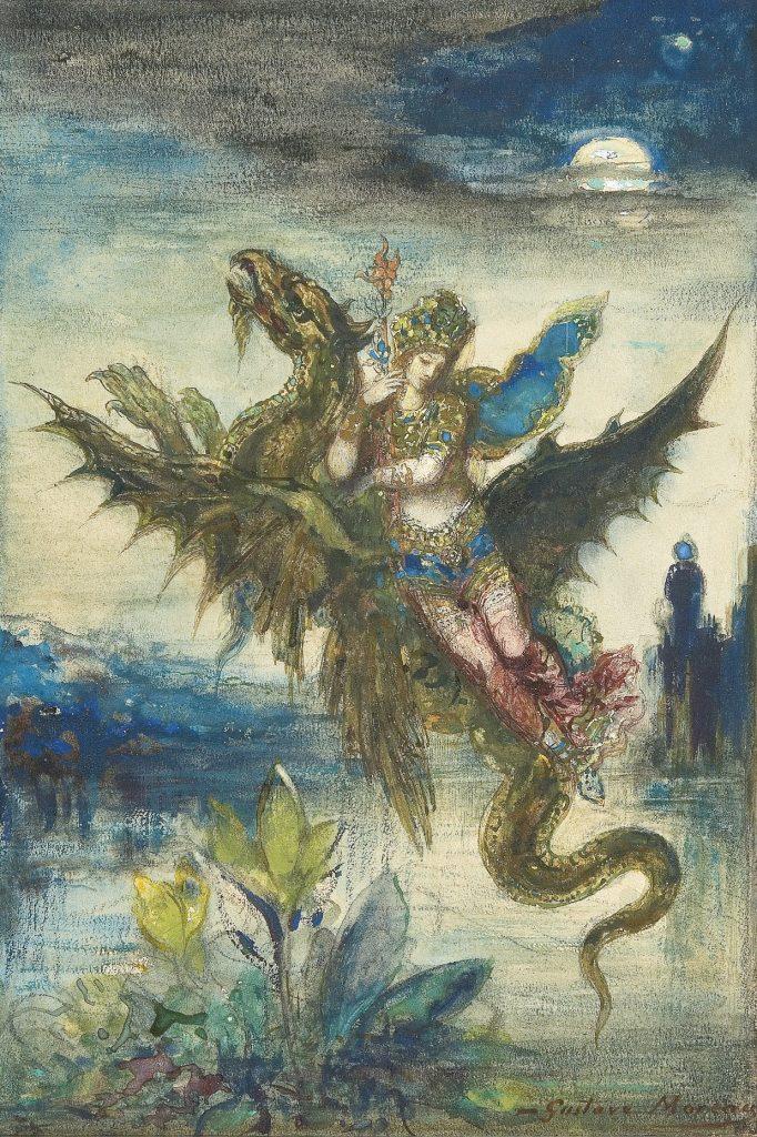 Gustave Moreau (1826 - 1898) - Visul Orientului